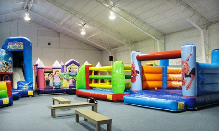Bounce! Fun Center - Clinton: Three or Five Groupons, Each Good for One Open-Play Admission at Bounce! Fun Center (60% Off)