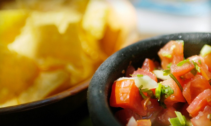 Chachos - Downtown San Jose: Mexican Dine-In or Take-Out Meal with Drinks and Chips and Salsa for Two or Four at Chacho's (Up to 56% Off)