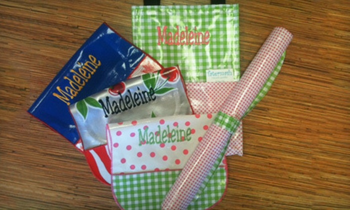 Tatermash Oilcloth - Midtown: $14 for $28 Worth of Oilcloth Bags, Totes, and Accessories at Tatermash Oilcloth