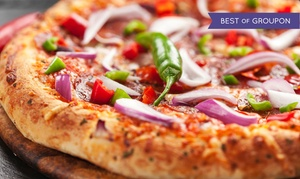 Mangieri's Pizza Cafe: $10 for $16 Worth of Pizza, Pasta, and Sandwiches at Mangieri's Pizza Café
