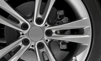 image for $41 for Brake Pad Replacement and Brake Rotor Resurfacing or Replacement at Big O Tires ($150 Value)