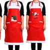 Christmas-Themed Aprons