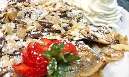 $12 for $20 Worth of Sweet and Savory Crepes at La France Cafe & Crepes