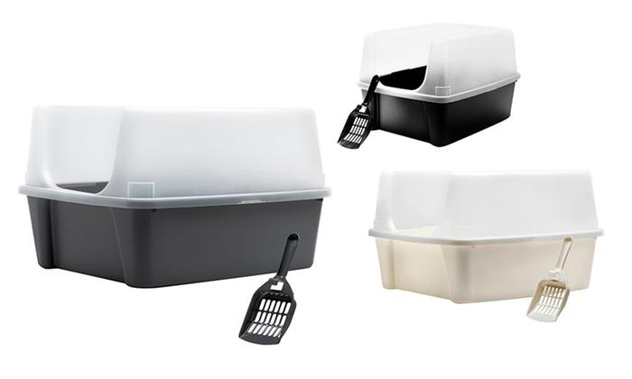 IRIS Open Top Litter Box with Scoop: IRISOpen Top Litter Box with Scoop. Multiple Colors Available. Free Returns.