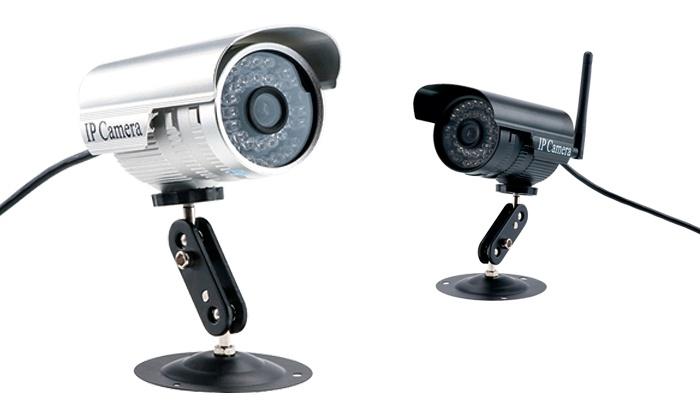 C mara ip de videovigilancia groupon goods - Camaras videovigilancia exterior ...