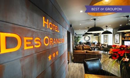 Cannes : 1 à 2 nuits avec petits déjeuners et champagne en option à l'hôtel des Orangers INTER HOTEL pour 2 personnes