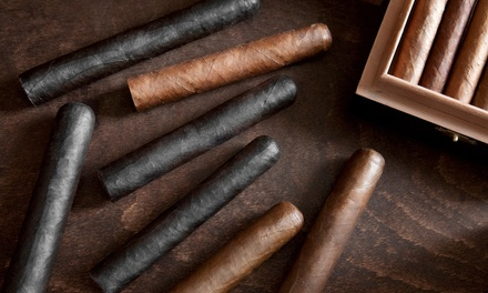 Cigars and Drinks for Two or Four at The Cigar Loft (Up to 44% Off)