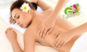 Massage & Erholung: 60 Min. Kombimassage inkl. Getränk für 1 oder 2 Personen bei Massage & Erholung ab 16,90 € (bis zu 70% sparen*)