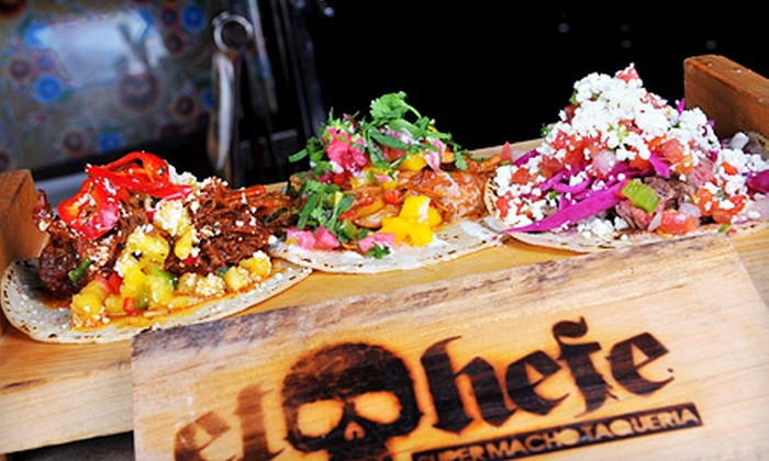 El Hefe - Near North Side: $20 for $40 Worth of Mexican Lunch or Weekend Brunch at El Hefe