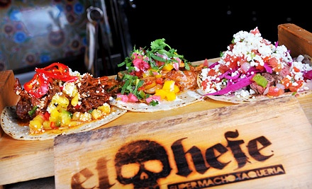 $20 for $40 Worth of Mexican Lunch or Weekend Brunch at El Hefe