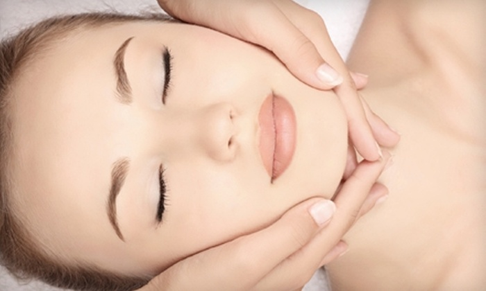 Blueberry Moon - DePaul: $140 for a 75-Minute Green Goddess Spa Package with Facial and Peel, Eye Treatment, and Chakra Balancing at Blueberry Moon ($280 Value)