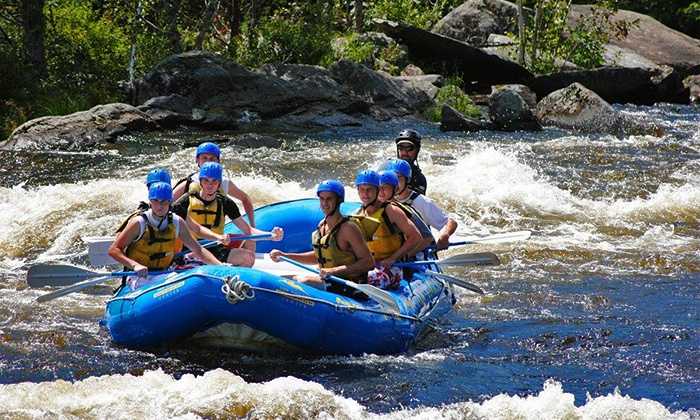 New England Outdoor Center - New England Outdoor Center: Whitewater Rafting Adventure with Riverside Lunch from New England Outdoor Center (Up to 50% Off)
