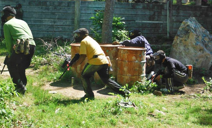 All-Day Paintball Package with Gear Rental for Two, Four, Six, or Eight at WarPlay Paintball (Up to 85% Off)