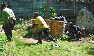 WarPlay Paintball: All-Day Paintball Package with Gear Rental for Two, Four, Six, or Eight at WarPlay Paintball (Up to 87% Off)
