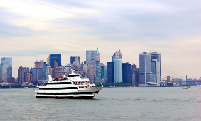 Festiva Yacht Charters - Weehawken: Three-Hour Brunch or Dinner Cruise for One, Two, or Four from Festiva Yacht Charters (Up to 51% Off)