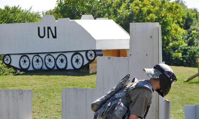 Clearwater Paintball - Clearwater: All-Day Outing with Guns, Paintballs, Gear & Refreshments for One or Two at Clearwater Paintball (Up to 51% Off)