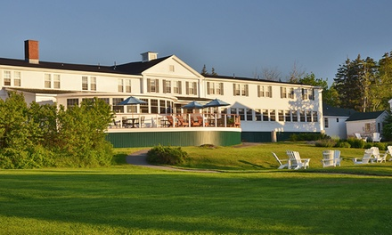 Stay at Newagen Seaside Inn in Southport, ME. Dates into October.