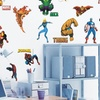 $9.99 for Marvel Heroes Peel-and-Stick Wall Decals