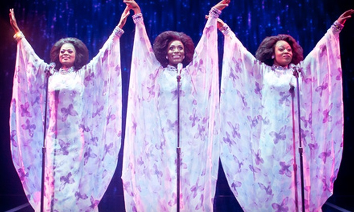 """Dreamgirls: The Broadway Musical"" - The Pullo Center: ""Dreamgirls: The Broadway Musical"" at The Pullo Center on May 8 at 7:30PM (Up to 53% Off). 2 Seating Options Available"