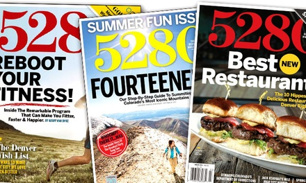 One- or Two-Year Subscription to 5280 Magazine (Up to 27% Off)