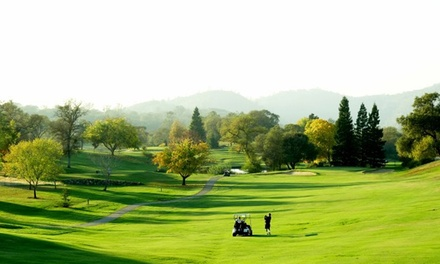 $58 for Round of Golf for Two Including Cart Rental and Range Balls at Auburn Valley Golf Course ($108 Value)