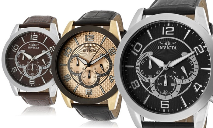 Invicta Men's Specialty Collection Watch: $89.99 for an Invicta Men's Specialty Collection Watch ($595 List Price). Six Colours Available.