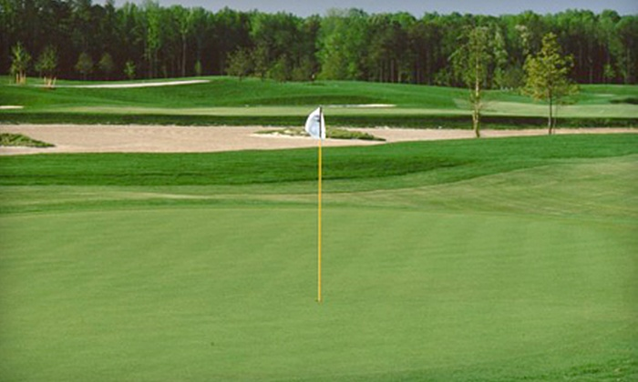 Virginia Beach National Golf Club - Virginia Beach National Golf Club: $60 for Three Rounds of Golf, Range Balls, and a Cart Rental at Virginia Beach National Golf Club (Up to $210 Value)