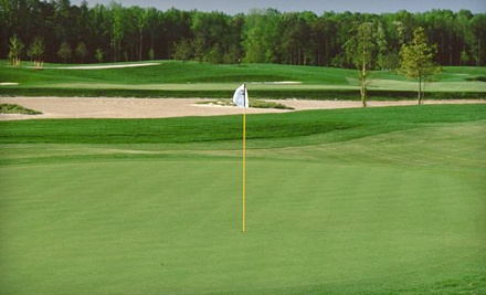 $60 for Three Rounds of Golf, Range Balls, and a Cart Rental at Virginia Beach National Golf Club (Up to $210 Value)