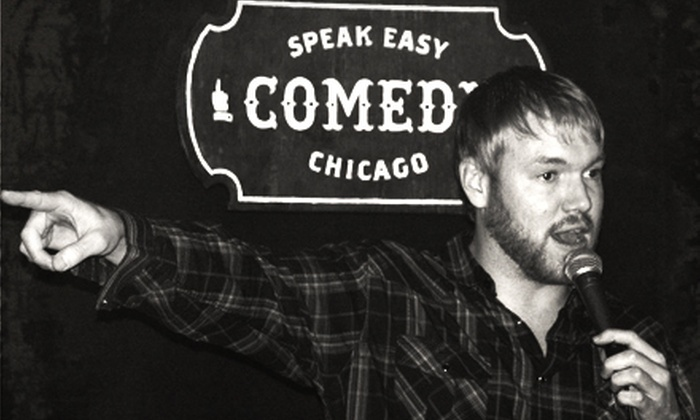 Speak Easy Comedy Chicago - Near North Side: Speak Easy Comedy Chicago Show for Two or Four at Stanley's Kitchen and Tap (Up to 55% Off)