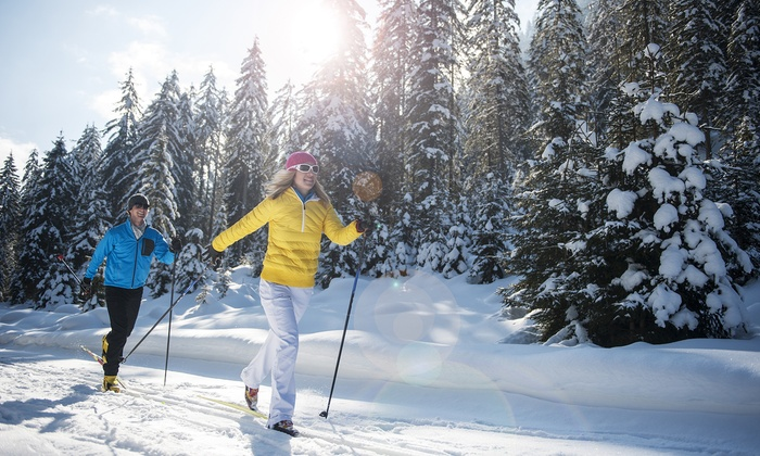 Winding Trails Cross Country Ski Center - Farmington: Weekday Trail Passes and Ski Equipment for Two or Four (Up to 53% Off)