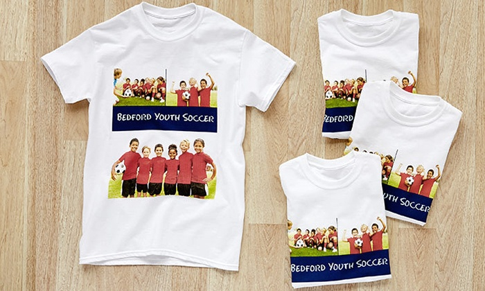 Collage.com: $5 for Custom White T-Shirts from Collage.com ($26.99 Value)
