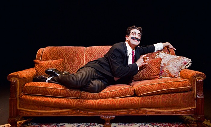 """An Evening with Groucho"" - Queens Theatre: ""An Evening with Groucho"" at Queens Theatre on March 28–30 (Up to 43% Off)"