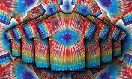 $31 for $50 Groupon — Tie Dye Pizza