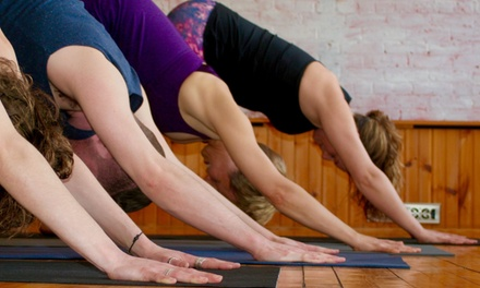10 Classes at Sanctuary Power Yoga (Up to 55% Off)
