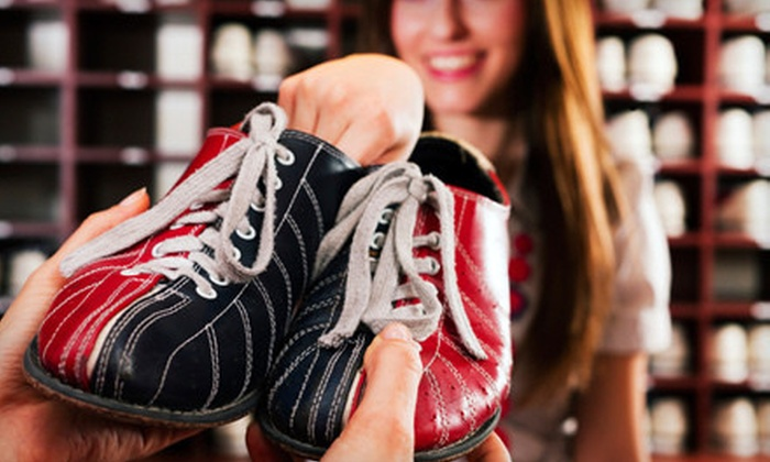 Plano Super Bowl - Armstrong Park: Two Hours of Bowling for 5 or 10 with Shoe Rentals at Plano Super Bowl (Up to 66% Off)