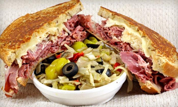 The Posh Nosh Deli - Clayton: Deli Sandwiches and Drinks or Party Trays and Boxed Lunches at The Posh Nosh Deli (Half Off)