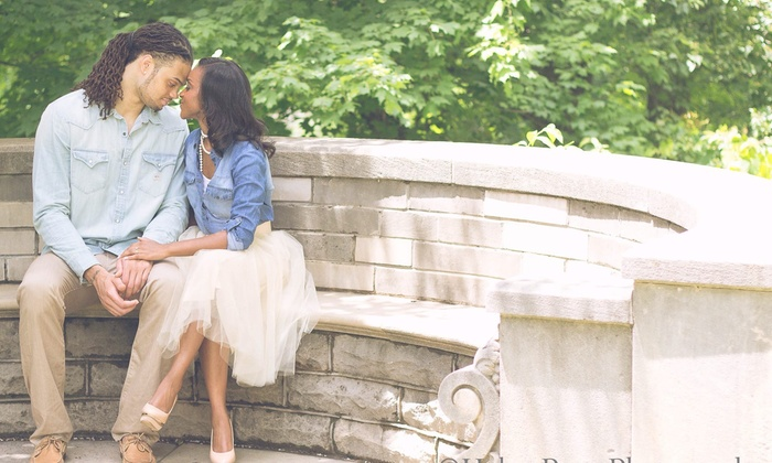 Haley Rose Photography - Indianapolis: 60-Minute Engagement Photo Shoot with Retouched Digital Images from Haley Rose Photography (30% Off)