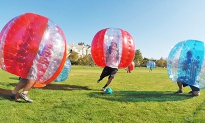 Bubble Gamez: One Hour Bubble Soccer Game for One, Two, or Four at Bubble Gamez (Up to 57% Off)