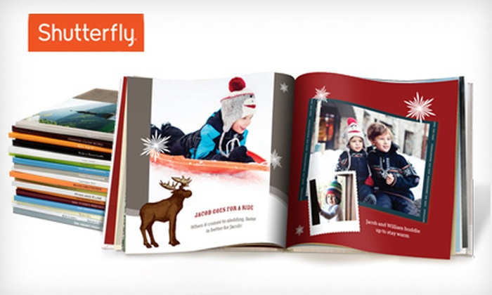 Shutterfly: 8x8 or 8x11 Customizable Photo Book from Shutterfly (Up to 67% Off)