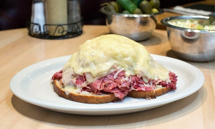 Classic Deli Food at Sarge's (Up to 42% Off). Two Options Available.