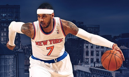 NY Knicks Game at Madison Square Garden on Jan. 4th, 10th, or 26th (up to 48% off). Seven Seating Options.