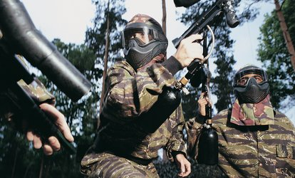 Paintballing With 100 Balls Plus Lunch for Up to 20 People at Blind Fire Paintball (90% Off)