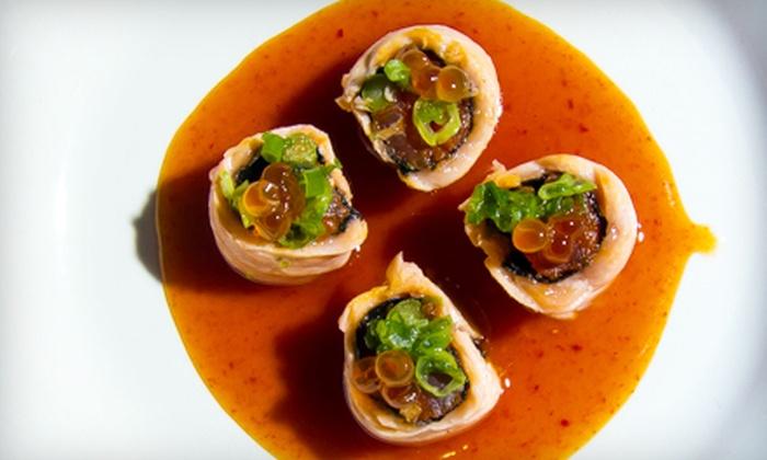 Hana Sushi Fusion - Bluffton: $20 for $40 Worth of Japanese Cuisine at Hana Sushi Fusion