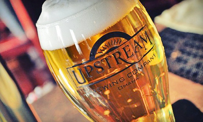 Upstream Brewing Company - Multiple Locations: $10 for $20 Worth of New American Pub Fare and Craft Beer at Upstream Brewing Company