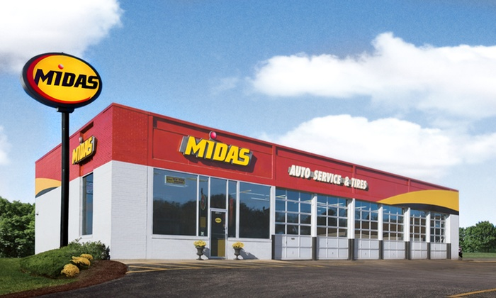 Midas - Downtown Watertown: Conventional or Synthetic Oil Change with Tire Rotation and Brake Inspection at Midas (Up to 55% Off)