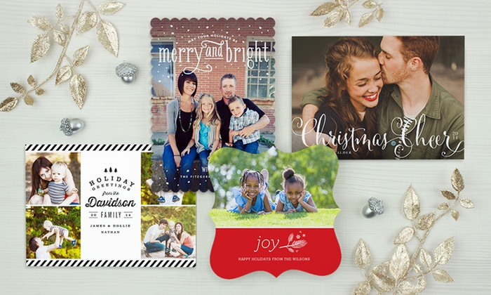 SimplytoImpress: Custom Holiday Cards, Invitations, and Announcements from SimplytoImpress (Up to 55% Off). Two Options Available.