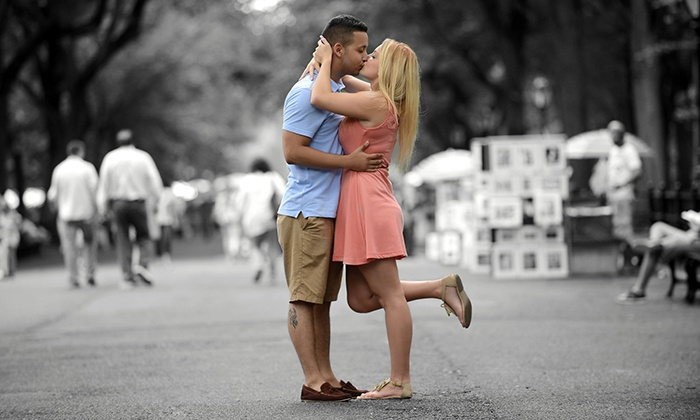 Carlos Alayo Photography - Koreatown: $150 for 60-Minute Engagement or Couples Photo Shoot Package from Carlos Alayo Photography ($730 Value)