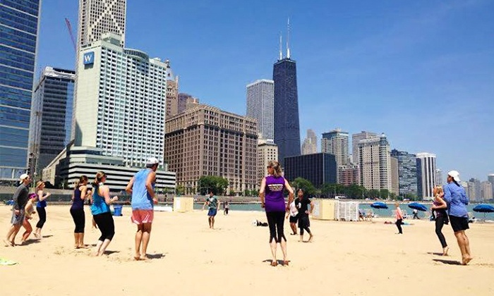 Mind and Body Total Fitness - Chicago: Beach Workout for Two or Four from Mind and Body Total Fitness (Up to 45% Off). 18 Options Available.