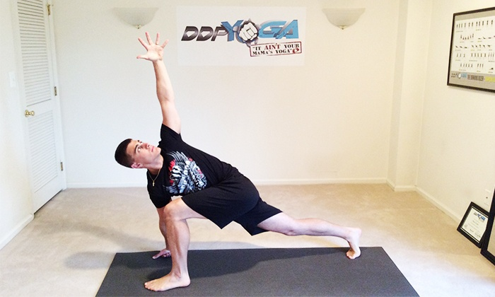 DDP Yoga NJ - Clinton: $35 for 10 Yoga Sessions at DDP Yoga NJ ($200 Value)