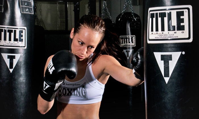 Title Boxing Club, Norwalk - Norwalk: Two Weeks of Boxing Lessons with Hand Wraps for One or Two at Title Boxing Club, Norwalk (Up to 59% Off)